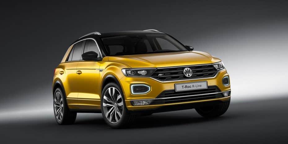 El Volkswagen T-Roc estrena paquete R-Line: Más sugerente
