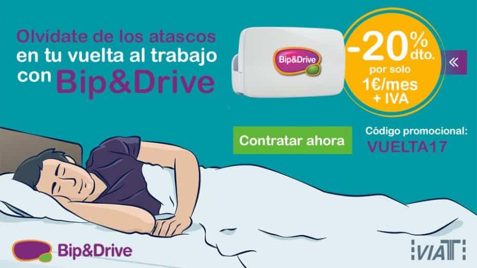 Bip&Drive te hace más llevadera la vuelta a la rutina