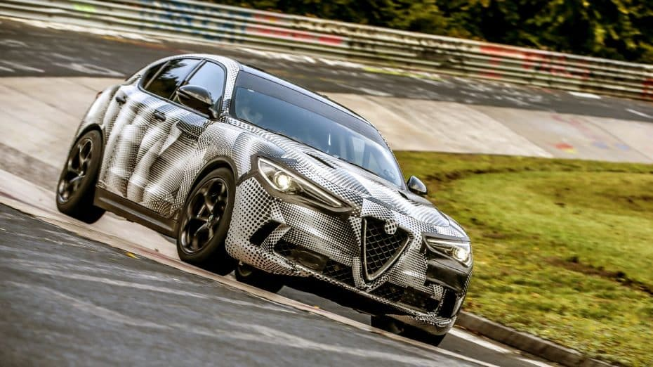 ¡Nuevo Récord!: El Alfa Romeo Stelvio Quadrifoglio azota Nürburgring y se convierte en el SUV más rápido