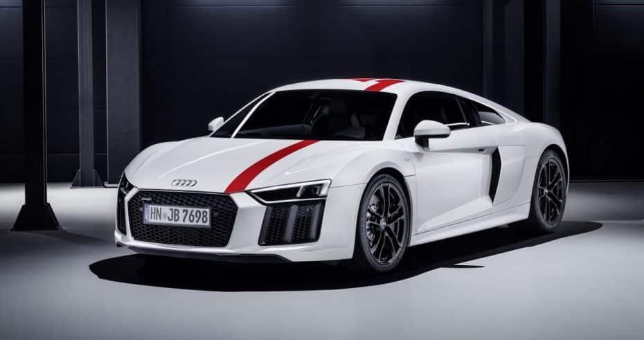 Audi R8 V10 RWS: Una edición limitada con propulsión trasera y 540 CV de pura adrenalina