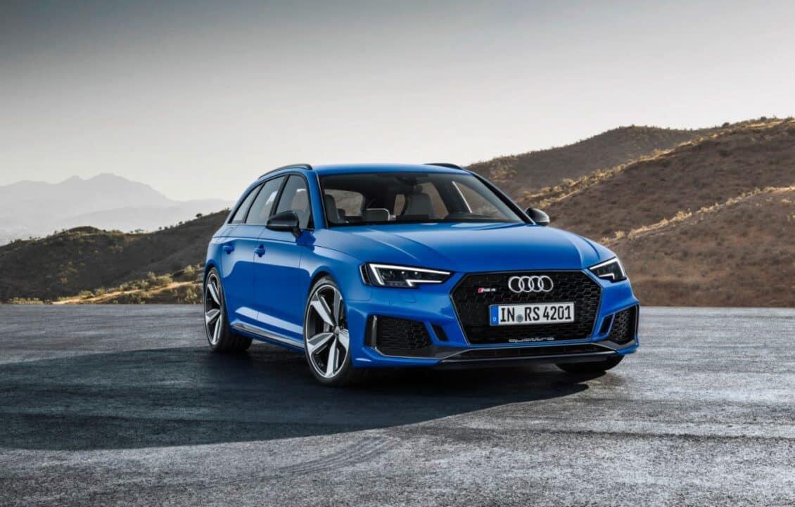 ¡Oficial!: Así de salvaje es el nuevo Audi RS 4 Avant con su V6 biturbo TFSI de 2.9 litros y 450 CV
