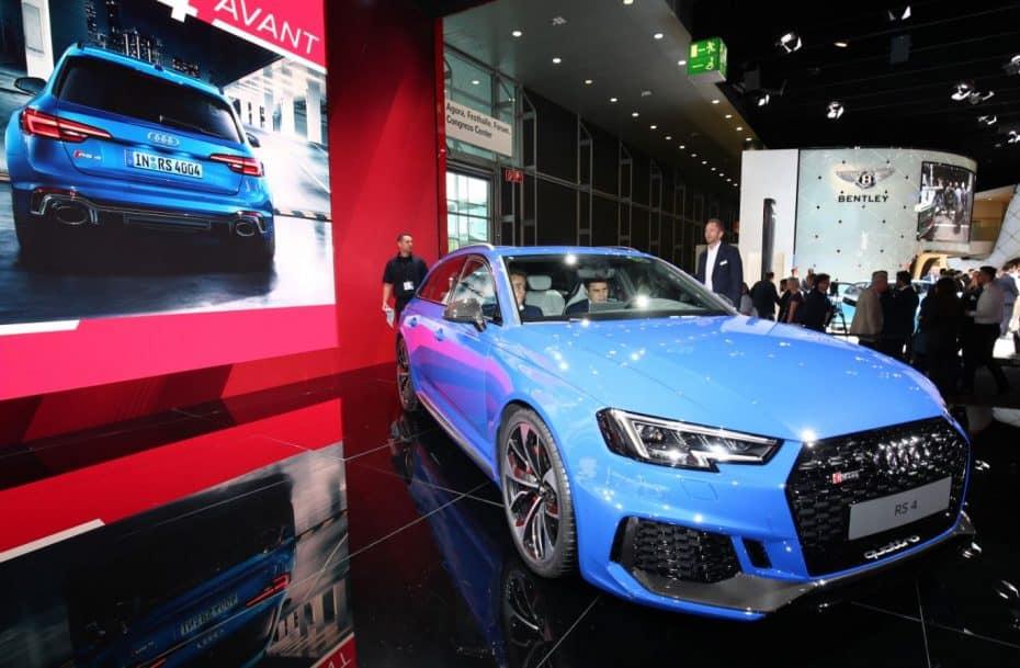 Así se ve el nuevo Audi RS 4 Avant en directo: Disponible en Alemania desde 79.800 euros