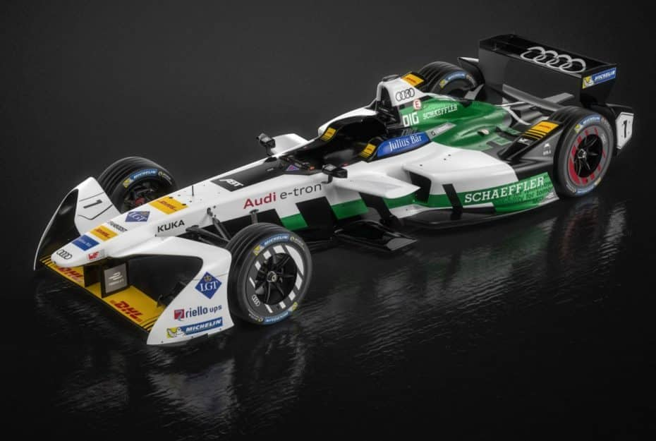 Se llama Audi e-tron FE04 y es la nueva bestia eléctrica de la Fórmula E