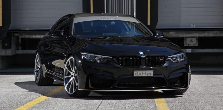 Así es el BMW M4 Competition Package de Dähler: ¡Toda una bestia salvaje de 540 CV!