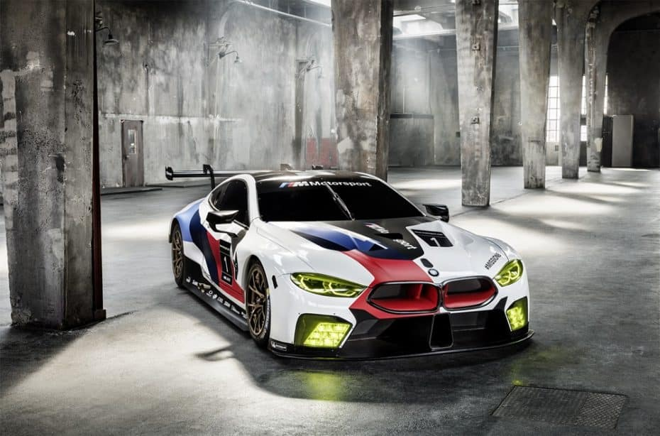 El BMW M8 GTE luce palmito en el Salón de Frankfurt: Listo para arrasar en 2018