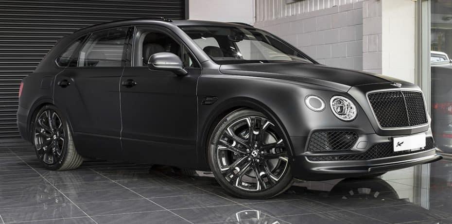 Un Bentley Bentayga con un 'chute' de esteroides: Así es la última creación de Khan Design