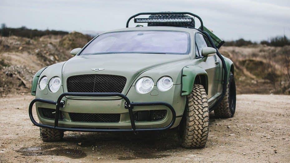 Este Bentley Continental GT ha sido preparado para llegar al fin del mundo ¡Y es una ganga!