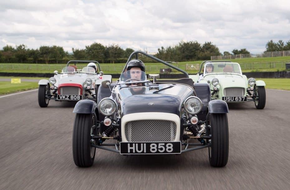 Caterham Seven SuperSprint: La marca británica celebra sus 60 años con un diseño 'Old School'