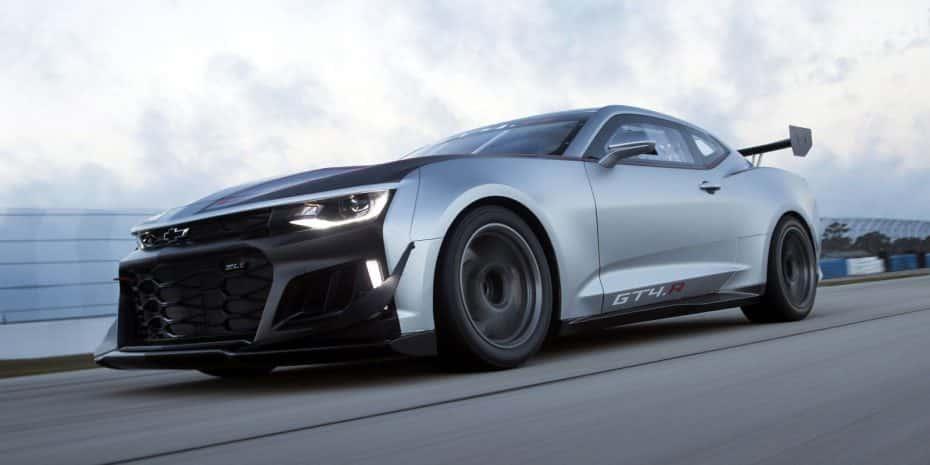 Chevrolet Camaro GT4.R: Un monstruo nacido en circuito que puede ser tuyo por 218.000 euros