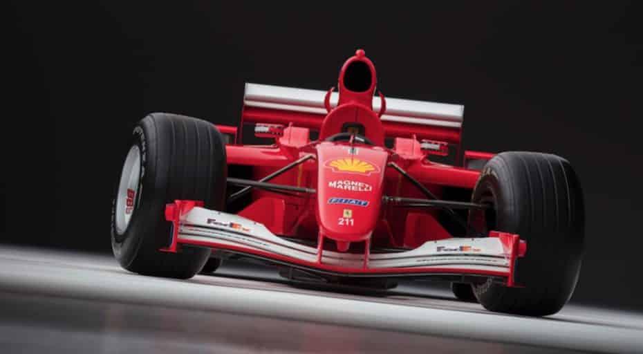 ¡Atención Ferrarista!, esta joya que pilotó Michael Schumacher sale a subasta…