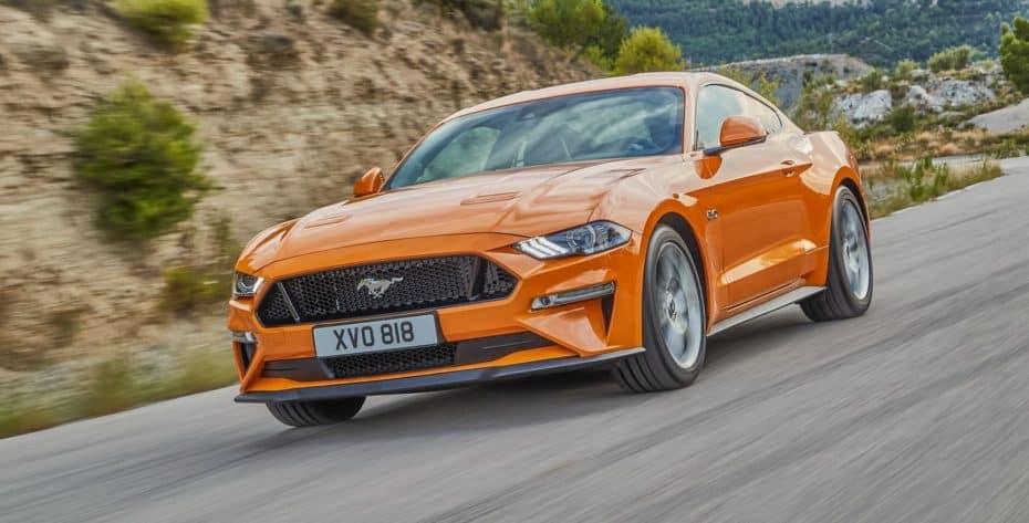 Así es el renovado Ford Mustang para Europa: Hasta 450 CV acompañados de mejoras en seguridad y equipamiento