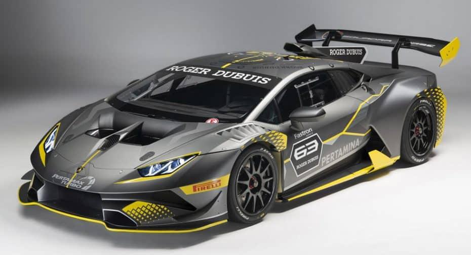 ¡Oficial! Así es el nuevo Lamborghini Huracán Super Trofeo EVO: Una bestia con esteroides para el circuito