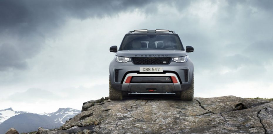 Discovery SVX: La esencia más todoterreno de Land Rover se hace realidad y podrá comprarse