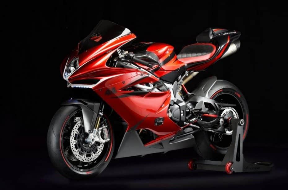Así es la MV AGUSTA F4 LH44: ¿La motocicleta definitiva?