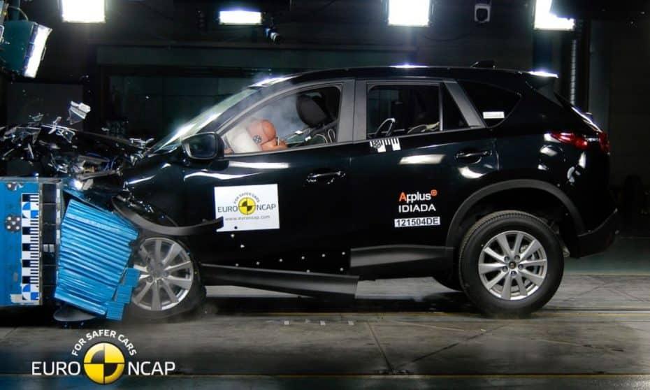 Estos son los resultados de las últimas pruebas Euro NCAP: El Mazda CX-5 en cabeza, los Kia flojean
