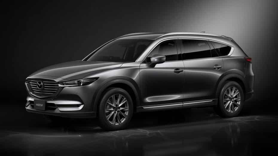 Así es el Mazda CX-8: Un bonito SUV que por desgracia no veremos en Europa