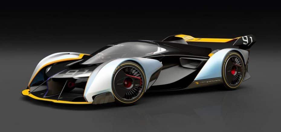McLaren Ultimate Vision GT: Así es este concept que solo veremos en el Gran Turismo Sport