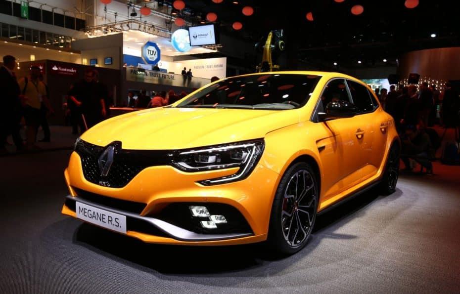 Así luce el Renault Mégane RS con su 1.8 TCe de hasta 300 CV al natural