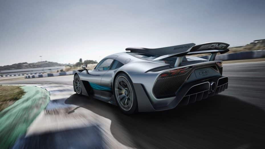 """Mercedes-AMG Project ONE: Los alemanes """"ponen la estrella"""" encima de la mesa y más de 1000 CV"""