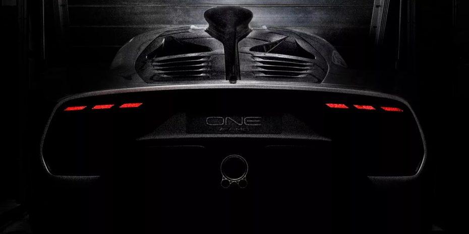 El último teaser del Mercedes-AMG Project ONE antes de su debut nos revela su fascinante zaga