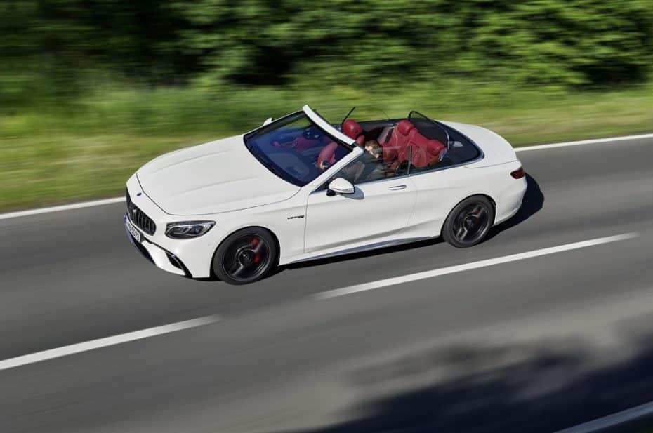 Elegancia y deportividad de la mano: Los poderosos Mercedes-AMG S 63 4MATIC+ y S 65 Cabrio y Coupé