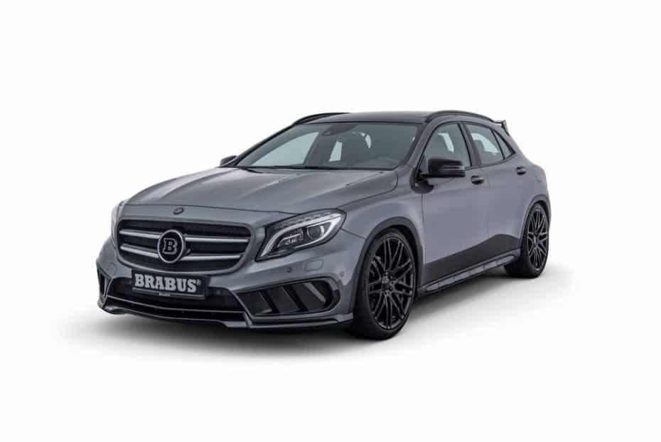 Corderito con piel de lobo: Lo último de BRABUS para el Mercedes-Benz GLA 220 CDI