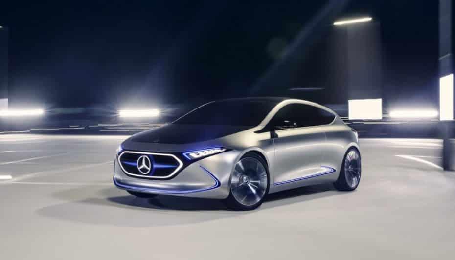 Mercedes-Benz Concept EQA: ¿Pensando en un Clase A 100% eléctrico?
