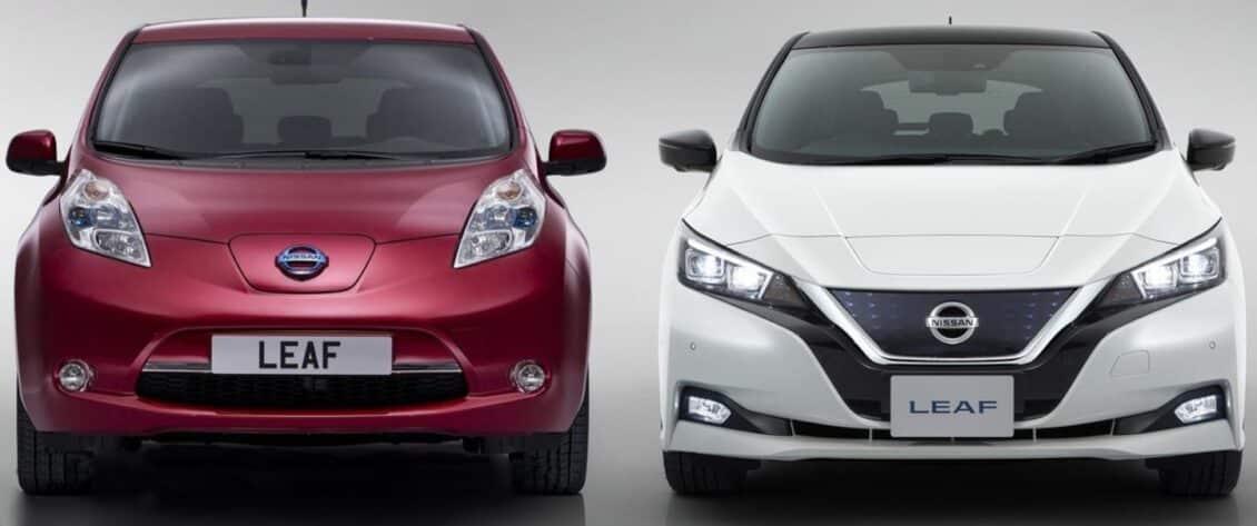 Juzga tú mismo: Nissan Leaf 2015 vs. Nissan Leaf 2018 vs. Tesla Model 3