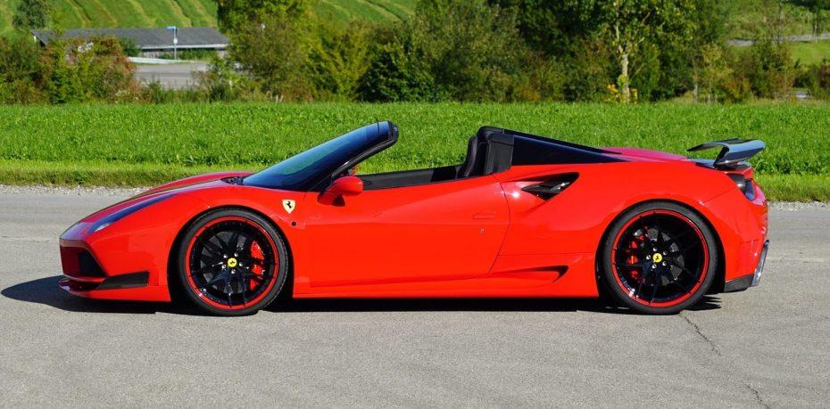 ¿Demasiado radical para la mayoría de mortales? Así es el Ferrari 488 Spider de Novitec
