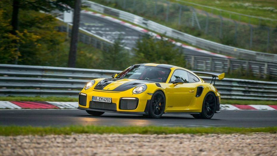 ¡Nuevo récord! Ahora el Porsche 911 GT2 RS es el rey de Nürburgring