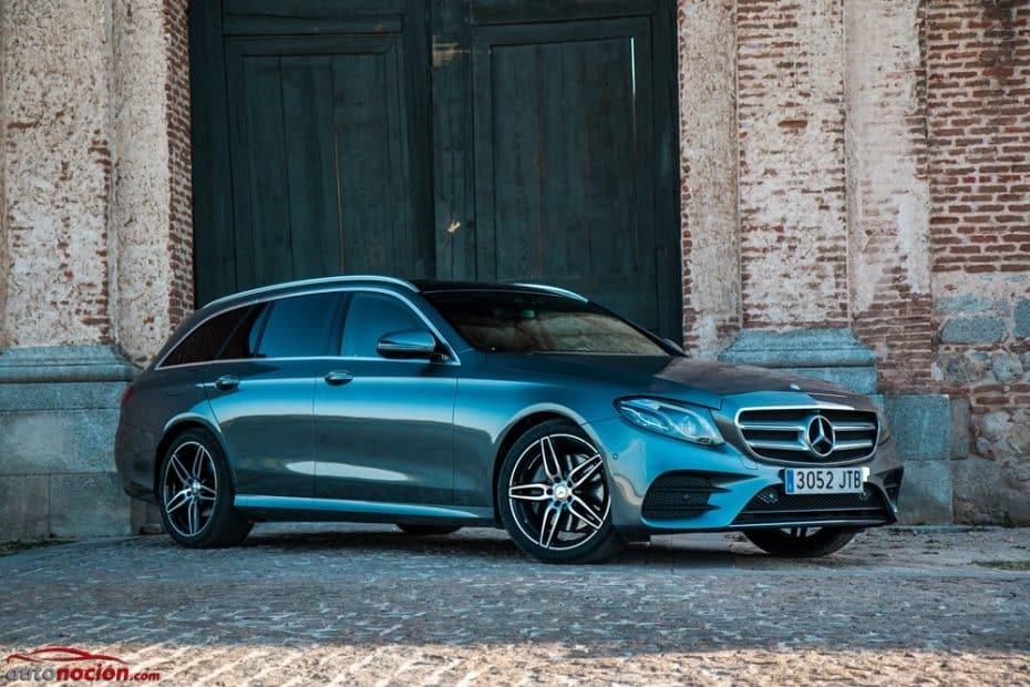 Prueba Mercedes-Benz E 220 d Estate: Viajarás como un rey rodeado de tecnología, pero pagarás por ella
