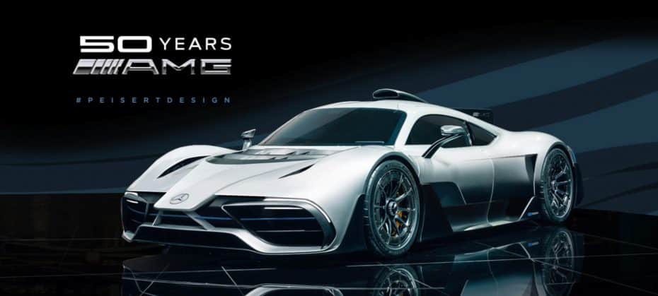 ¿Error o acierto? Ojo a este render del Mercedes-AMG Project ONE al estilo Fórmula 1