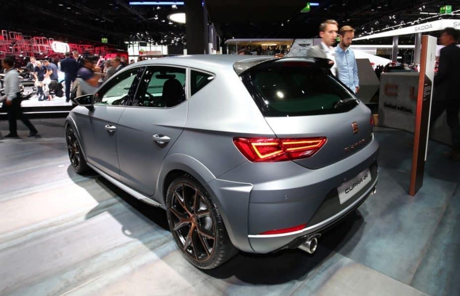 Así es el SEAT León CUPRA R en directo: Hasta 310 CV para 799 unidades…