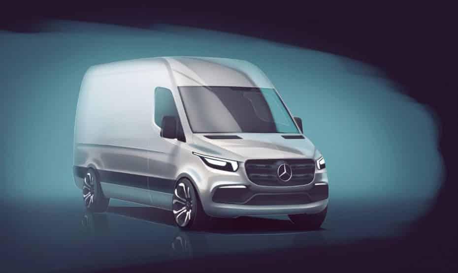 Mercedes-Benz nos muestra los primeros detalles del nuevo Sprinter: El segmento se pone interesante