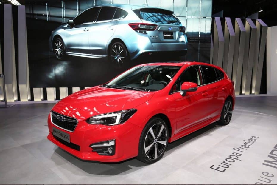 Así es la versión europea del Subaru Impreza en directo: Aún no sabemos si lo veremos en España…