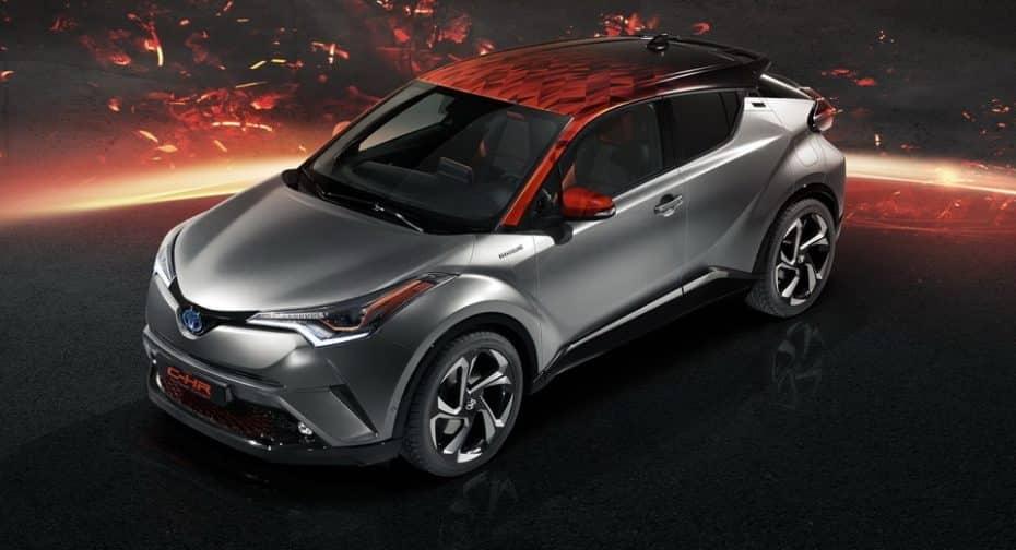 Atento al Toyota C-HR Hy-Power: Se avecina una versión más picante y deportiva del híbrido nipón