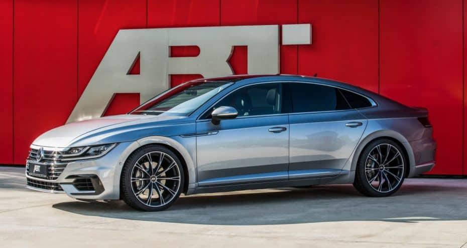 Así le queda la mano de ABT al Volkswagen Arteon: De momento hasta 336 CV y 420 Nm de par