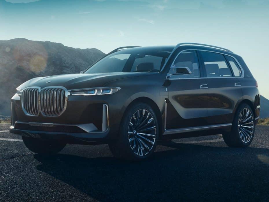 Aquí está el BMW X7 iPerformance Concept: El SUV más grande y tecnológico