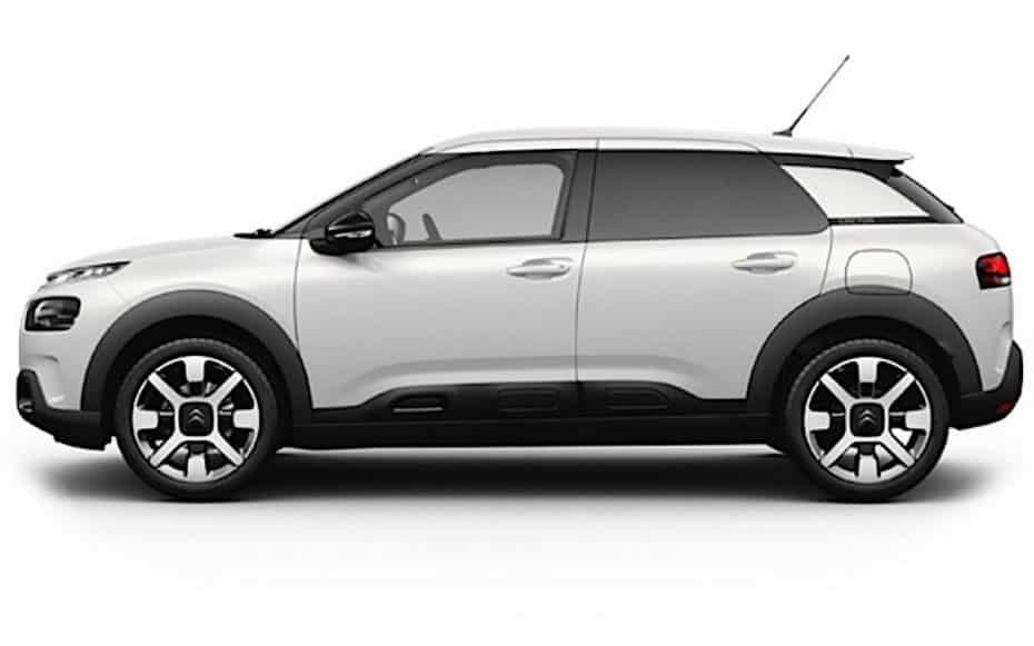 Filtrada la primera imagen del renovado Citroën C4 Cactus, ahora sin «Airbumps»