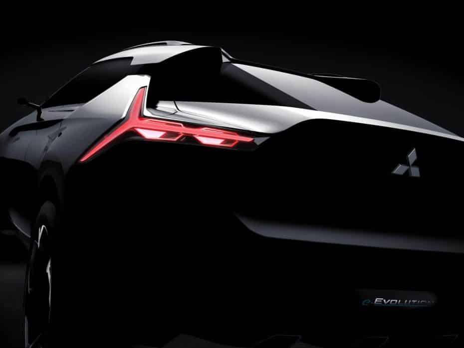 ¿El Mitsubishi Evolution está de vuelta? Ojo a este Concept Crossover y eléctrico