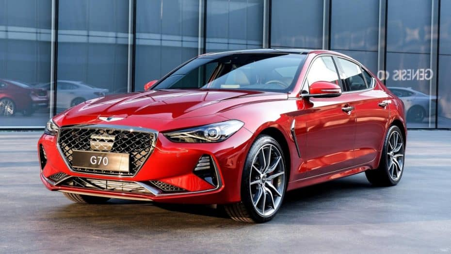 Aquí está el Genesis G70, el «Serie 3» de Hyundai