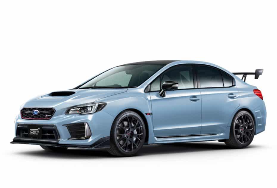 El Subaru WRX STi S208 se presentará en Tokio: Más potencia y fibra de carbono