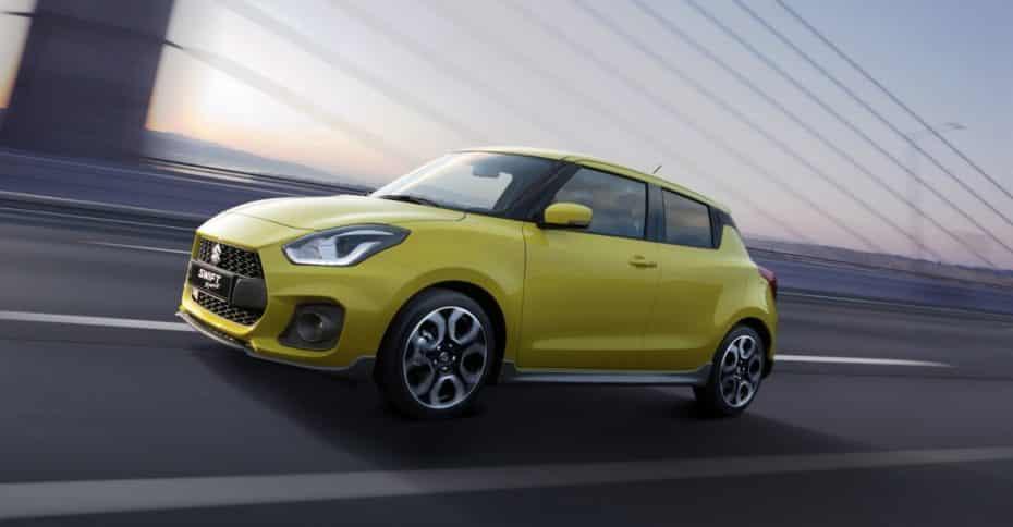 Aquí está el nuevo Suzuki Swift Sport: Muy ligero y con turbo