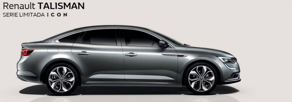 La serie especial «ICON» se extiende también al Renault Talisman