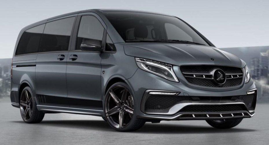 """TopCar se suma a la moda y ha transformado el Mercedes-Benz Clase V en todo un """"Inferno"""""""