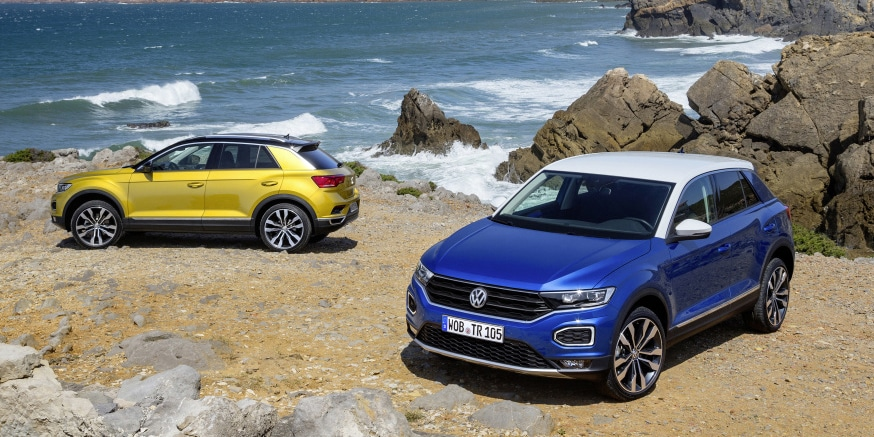 El Volkswagen T-Roc, ahora también con el diésel de 115 CV