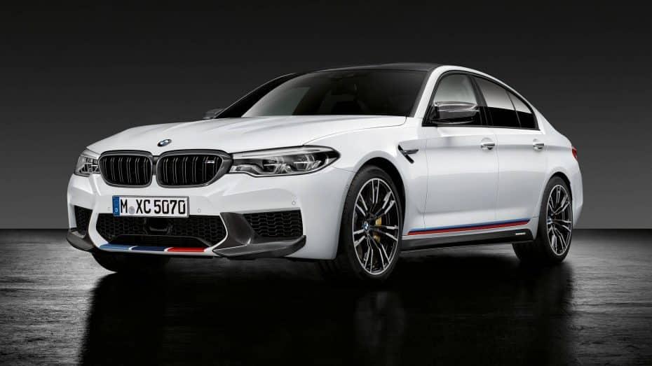 Así de salvaje luce el BMW M5 con las M Performance Parts: Todas las novedades de BMW en el SEMA Show