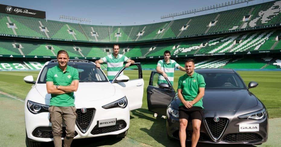 ¡Alfa Romeo para todos! (otra vez): Los jugadores del Betis reciben sus nuevos coches…