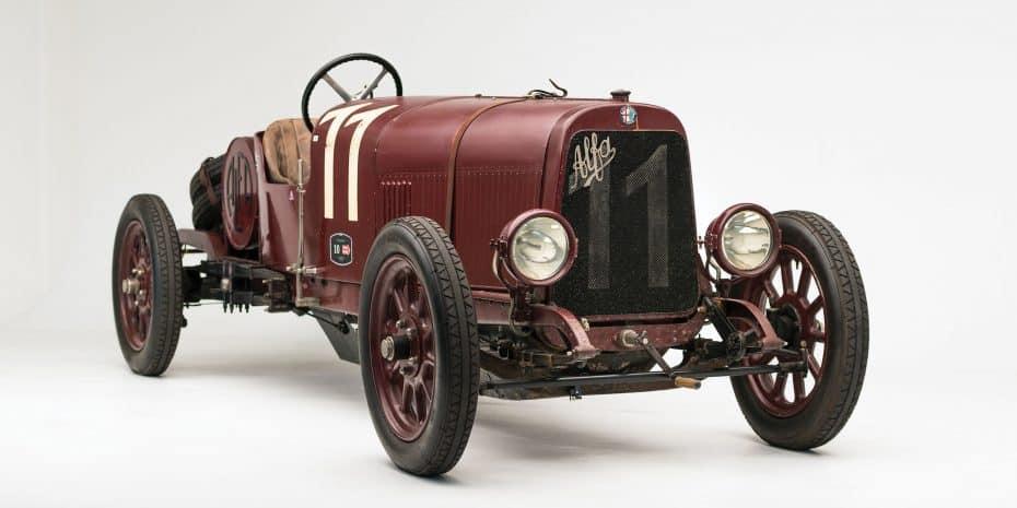 Este Alfa Romeo de 1921 es toda una joya de la casa italiana ¡Y será subastado por 1,5M de dólares!