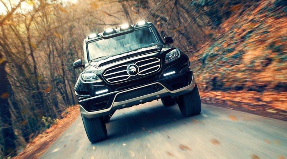 El X-Raid es un Mercedes-Benz Clase G venido del futuro e hipervitaminado ¡Con 760 CV!